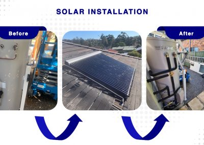 Solar Hot Water Installation Plumber Newcastle NSW