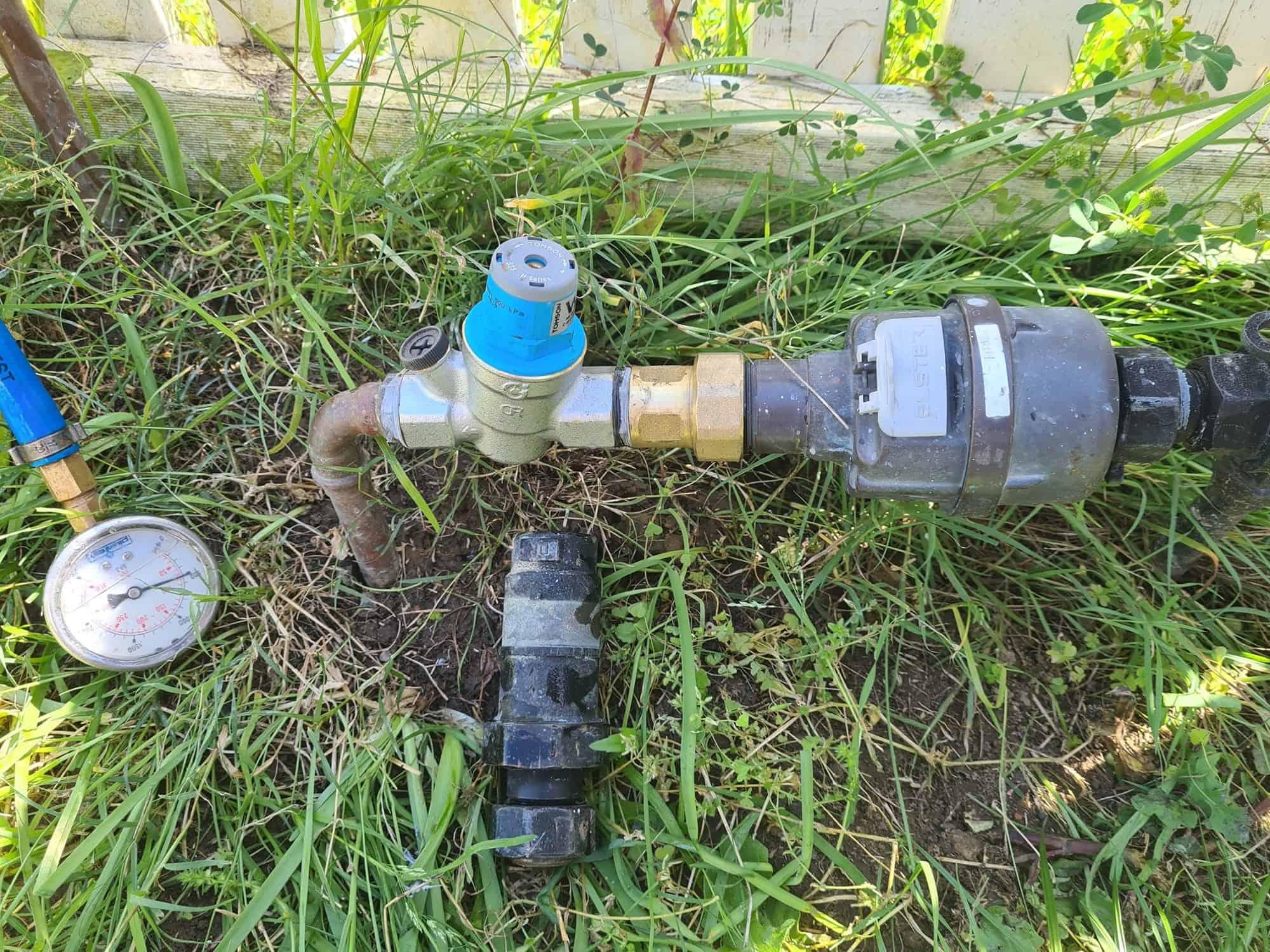 Newcastle Plumbing Kings after pressure valve