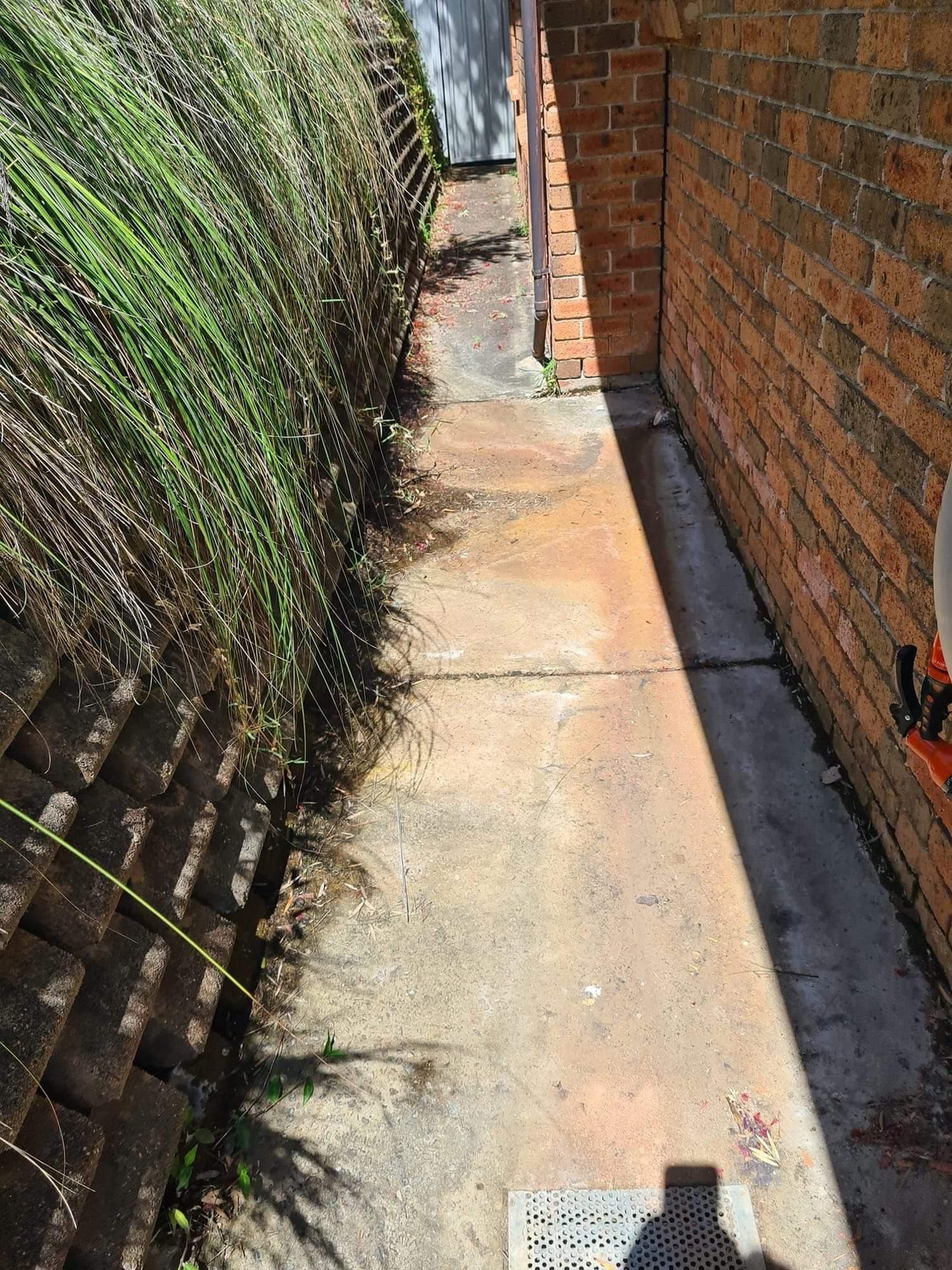 Newcastle Plumbing Kings after strip drain